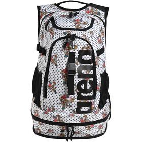 arena Fastpack 2.2 Allover Backpack, bianco/colorato
